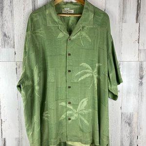 Tommy Bahama XXL 100% Silk Shirt